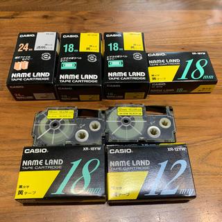 カシオ(CASIO)のNAME LAND テープカートリッジ(テープ/マスキングテープ)