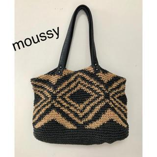 マウジー(moussy)のmoussy  カゴバッグ (かごバッグ/ストローバッグ)