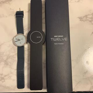 イッセイミヤケ(ISSEY MIYAKE)のISSEYMIYAKEイッセイミヤケ時計TWELVE [SILAP007](腕時計(アナログ))