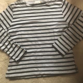レプシィム(LEPSIM)のLEPSIMボーダーカットソー☆M(Tシャツ(長袖/七分))