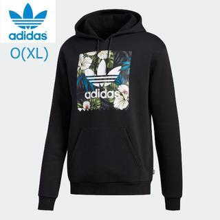アディダス(adidas)のアディダス 花柄 ウェット パーカー O(XL) 【新品】(パーカー)