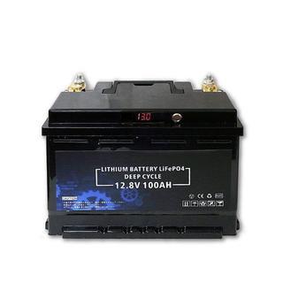リチウムイオン バッテリー 12V 100Ah 急速充電 サブバッテリー(変圧器/アダプター)