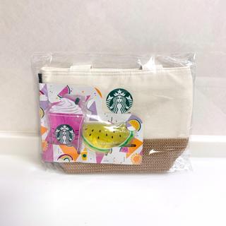 スターバックスコーヒー(Starbucks Coffee)のStarbucks💛保冷バッグ&保冷剤(トートバッグ)