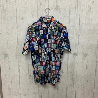 ファンキーフルーツ(FUNKY FRUIT)のグラフィック総柄 半袖シャツ(シャツ/ブラウス(半袖/袖なし))