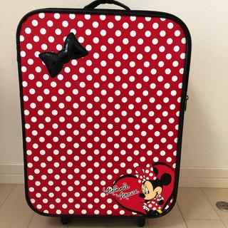 ディズニー(Disney)の【Disney】ミニーキャリーバッグ (スーツケース/キャリーバッグ)