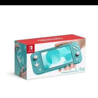 ニンテンドースイッチ(Nintendo Switch)の任天堂 スイッチ ライト ターコイズ(家庭用ゲーム機本体)