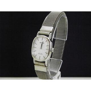 ラドー(RADO)のRADO Silhouette シルエット 手巻き腕時計 シルバー (腕時計)