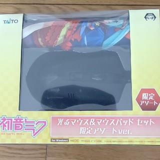 タイトー(TAITO)の初音ミク 光るマウス&マウスパッドセット  限定アソートver.(PC周辺機器)