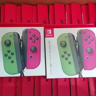 ニンテンドースイッチ(Nintendo Switch)の新品 14台セット ジョイコン joy con ネオングリーン ネオンピンク(その他)