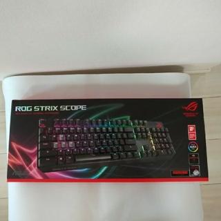 エイスース(ASUS)の比良塚様専用 ASUS ROG STRIX SCOPE ゲーミングキーボード(PC周辺機器)