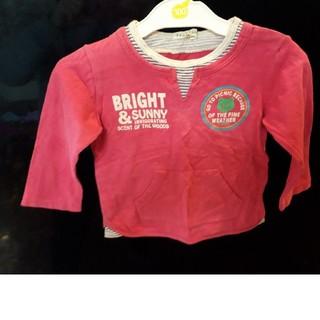 サンカンシオン(3can4on)の女児3can4on長袖Tシャツ(Tシャツ/カットソー)