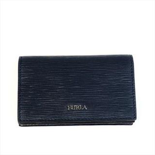 フルラ(Furla)のFURLA フルラ メンズ カードケース 名刺入れ 1032176 ネイビー(名刺入れ/定期入れ)