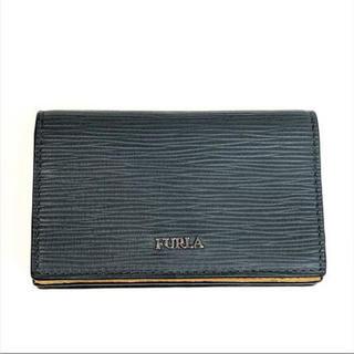 フルラ(Furla)のFURLA フルラ メンズ カードケース 名刺入れ 1032173 グレー(名刺入れ/定期入れ)