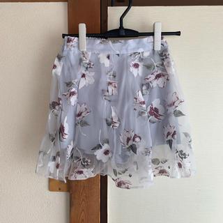 ダズリン(dazzlin)のdazzlin 花柄スカート(ミニスカート)