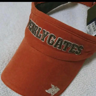 パーリーゲイツ(PEARLY GATES)のパーリーゲイツ サンバイザー レディース ゴルフ(キャップ)