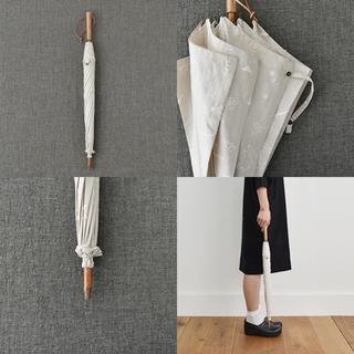 mina perhonen - トラネコボンボン 刺繍の日傘