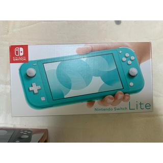 ニンテンドースイッチ(Nintendo Switch)のニンテンドースイッチライト ターコイズ 新品未開封未使用品(家庭用ゲーム機本体)