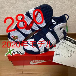"""ナイキ(NIKE)の【28.0】AIR MORE UPTEMPO """"OLYMPIC"""" 2020(スニーカー)"""