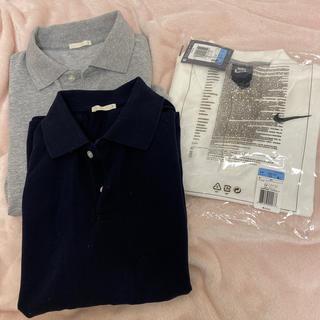 ナイキ(NIKE)のポロシャツ(シャツ/ブラウス(長袖/七分))
