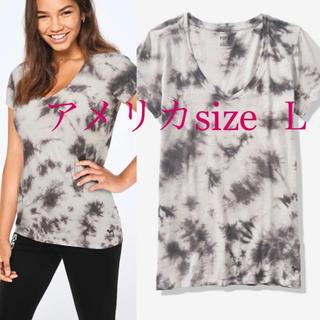 ヴィクトリアズシークレット(Victoria's Secret)のヴィクトリアシークレットPINK半袖Tシャツ Vネック(Tシャツ(半袖/袖なし))