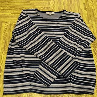 オゾック(OZOC)のOZOC ボーダーTシャツ(Tシャツ(長袖/七分))