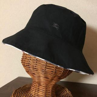 バーバリーブルーレーベル(BURBERRY BLUE LABEL)のバーバリー リバーシブルハット 帽子(ハット)