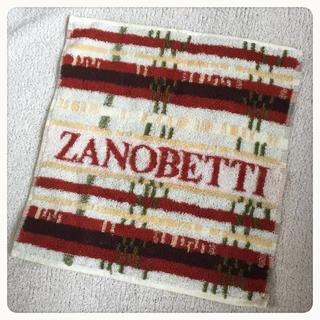 ザノベッティー(ZANOBETTI)の新品⭐️ZANOBETTI ハンドタオル(タオル/バス用品)