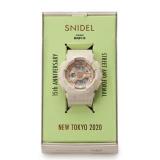 スナイデル(snidel)の完売品 snidel BabyG(腕時計)