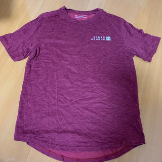 アンダーアーマー(UNDER ARMOUR)のアンダーアーマー  えんじ Tシャツ(Tシャツ/カットソー(半袖/袖なし))