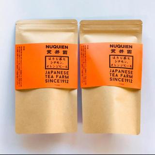 ほうじ茶とオレンジピール・シナモンのスパイスティ 2袋 〈普通郵便〉 (茶)