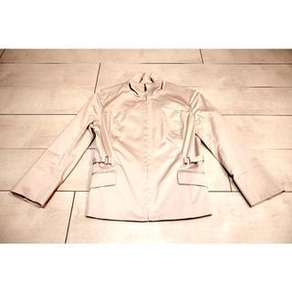 ミッシェルクラン(MICHEL KLEIN)のミッシェルクラン ofuon ピンクベージュ スーツ&ブラウス(スーツ)