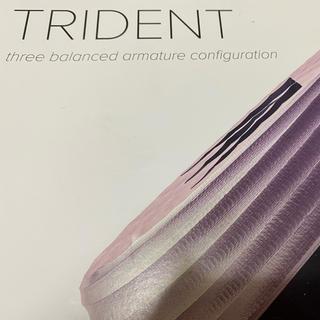 ノーブル(Noble)のNoble audio Trident(最終値下げ)(ヘッドフォン/イヤフォン)