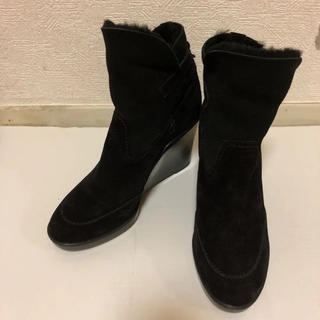フェラガモ(Ferragamo)のフェラガモ ムートンブーツ(ブーツ)