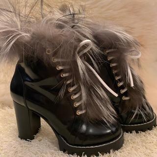 ルイヴィトン(LOUIS VUITTON)の人気ルイヴィトン ファーブーティー ブランド靴 全国完売(ブーティ)