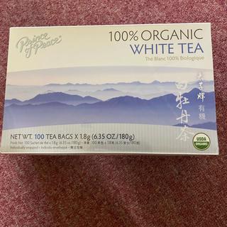 完売商品★ホワイトティー100%有機白茶美人になるお茶 白茶(茶)