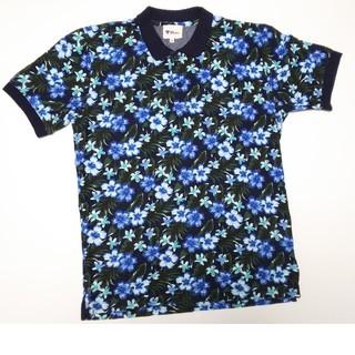 ティーケー(TK)のTK MIXPICE ティーケー ポロシャツM 花柄 タケオキクチ 半袖(ポロシャツ)