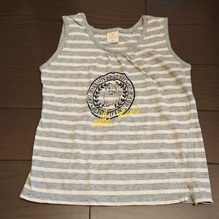 イッツインターナショナル(I.T.'S.international)のイッツインターナショナル  タンクトップ  110(Tシャツ/カットソー)
