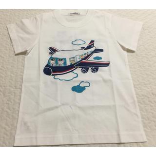 ファミリア(familiar)のファミリア Tシャツ おはなし 飛行機 120 新品未使用(Tシャツ/カットソー)