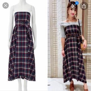 ココディール(COCO DEAL)の新品タグ付き♡チェック柄ワンピスカート(ロングスカート)