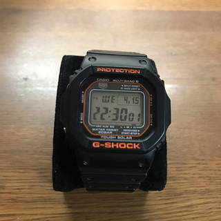 ジーショック(G-SHOCK)のG-SHOCK ソーラー オレンジ(腕時計(デジタル))