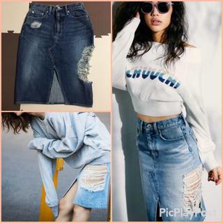 ジェイダ(GYDA)の2019モデル新品!SIDE RIPPERタイトスカート、エモダ、レディー(ひざ丈スカート)