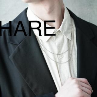 ハレ(HARE)のHARE デザインチェーンネックレス(ネックレス)