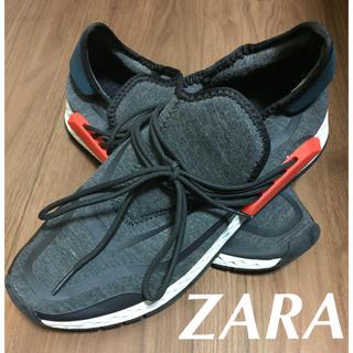 ザラ(ZARA)のZARA ストレッチスニーカー 美品(スニーカー)