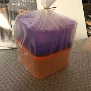 タッパーウェア スマートスクエア#2紫&橙(容器)