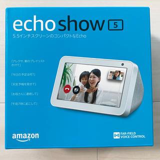エコー(ECHO)の新品☆未使用 エコーショー5 サンドストーン(スピーカー)