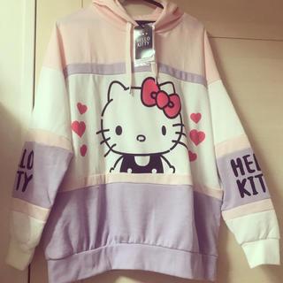 ハローキティ(ハローキティ)のキティちゃんパーカー♡(パーカー)
