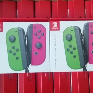 ニンテンドースイッチ(Nintendo Switch)の新品 14台セット ジョイコン joy con ネオングリーン ネオンピンク ②(その他)