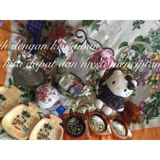 世界のお土産 マレーシア シンガポール ハワイ グアム サイパン 蝋燭 スタンド(キャンドル)