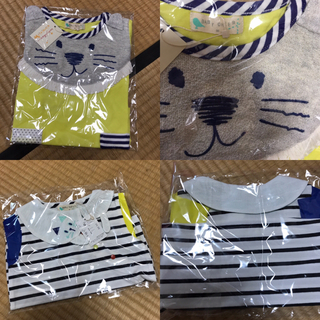ナルミヤ インターナショナル(NARUMIYA INTERNATIONAL)のりりか様専用♡ナルミヤ BABY CHEER Tシャツ 80 2枚(Tシャツ)