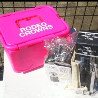 ロデオクラウンズワイドボウル(RODEO CROWNS WIDE BOWL)のRODEO CROWNS大人気ノベルティお買得セット♪買わなきゃ損ですよ奥さん!(弁当用品)